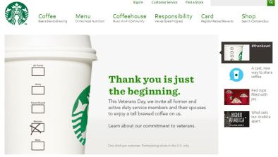home page starbucks